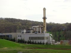The east campus steam plant.