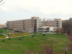 Shenandoah Hall, the long-awaited third Skyline area dorm, completed in 2009.