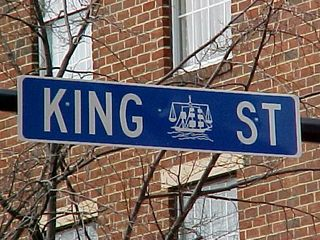 Welcome to Old Town! You know you're there when you see King Street...