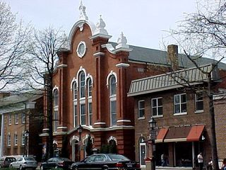 Churches also help line Old Town in places, like this architectural masterpiece, the Washington Street United Methodist Church.