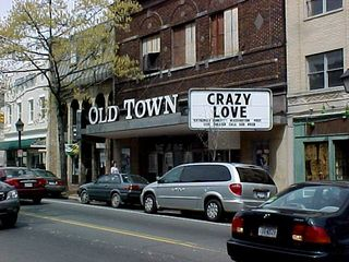 """At the Old Town theater, """"Crazy Love"""" is here, acclaimed as """"extremely funny"""" by the Washington Post."""