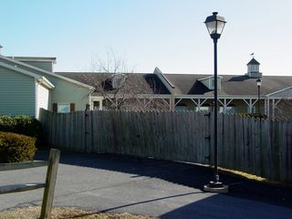 The fence was an obvious addition, and served to separate Building 9, save for a set of restrooms and one store, from the rest of the facility. It is unknown when the fence was constructed, nor why the fence was constructed, but the fence existed since at least 1997.