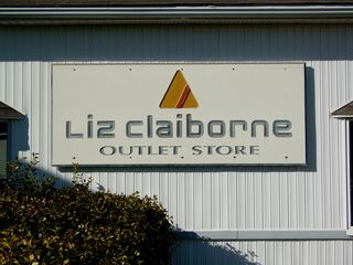 The Liz Claiborne outlet was the single remaining outlet store in the facility. Of all the factory outlet stores that once filled the Outlet Village, this was now the last one.
