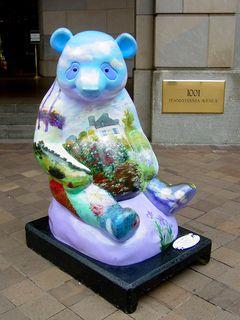 Panda-Monet-um by Cindi Berry