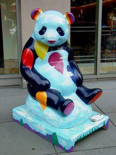 Carefree Panda by Bob Wilder