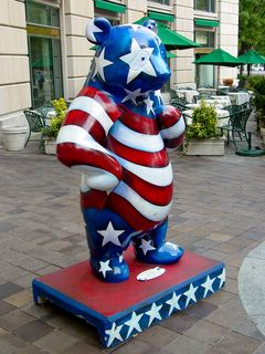 Stars and Stripes by Christine Miller