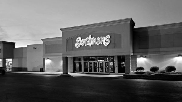 """Gordmans store in Waynesboro, Pennsylvania, closed as a """"non-essential"""" business in the early months of the pandemic."""
