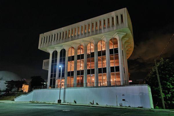The Arlington Education Center, at 1426 North Quincy Street in Arlington, Virginia.