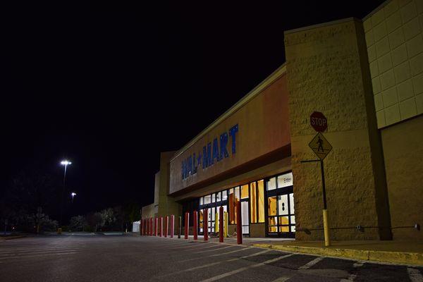 Former Walmart store in Leesburg, Virginia.