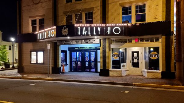 Tally Ho Theater, a live performance venue in downtown Leesburg, Virginia.