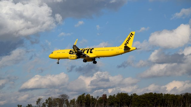 N665NK, an Airbus A321-231 operated by Spirit Airlines