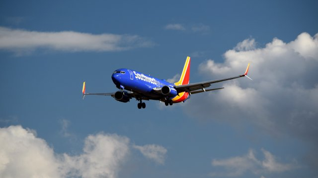 N8538V, a Boeing 737-800 operated by Southwest Airlines