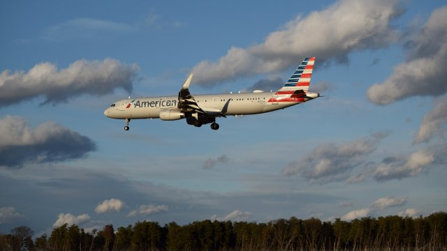 N147AA, an Airbus A321-231 operated by American Airlines