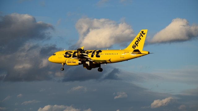 N509NK, an Airbus A319-132 operated by Spirit Airlines