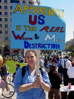 The United States as the real weapon of mass destruction?