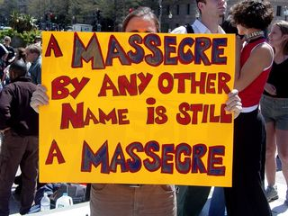 Call it what you want, but a rose is still a rose, or in this case a massacre is still a massacre.