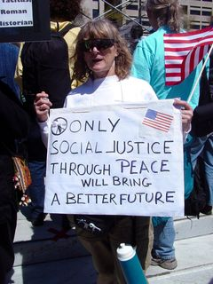 The bottom line? Peace! Give us peace, and the rest will fall in line from it.
