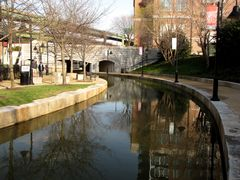 Curved section of the Canal adjacent to 140 Virginia Street, facing east.
