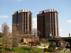 Riverfront Plaza towers.