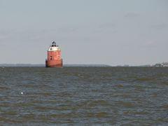 Sandy Point Shoal Light.