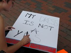 """""""My Dress Is Not A Yes"""""""