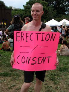 """Erection ≠ Consent"""