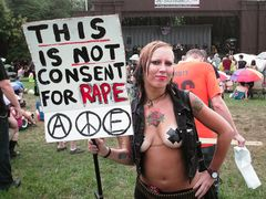 """""""This is not consent for rape"""""""