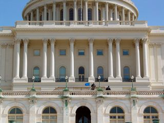 Beneath the dome, our nation's legislative business is attended to.
