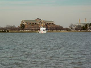 Surrounding East Potomac Park is the Potomac River on one side, and Washington Channel on the other side. The Washington Channel connects the Potomac River with the Tidal Basin.