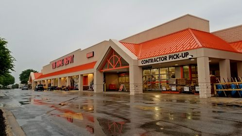 The Home Depot in Hanover, Pennsylvania, housed in a former Super Kmart building.