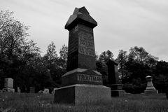 Odd Fellows Cemetery, located near where the Centralia mine fire began in 1962. Odd Fellows Cemetery is one of three cemeteries in Centralia.