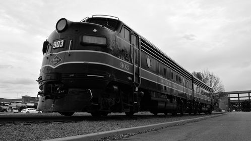 Reading Company 903 at the Steamtown National Historic Site in Scranton, Pennsylvania.