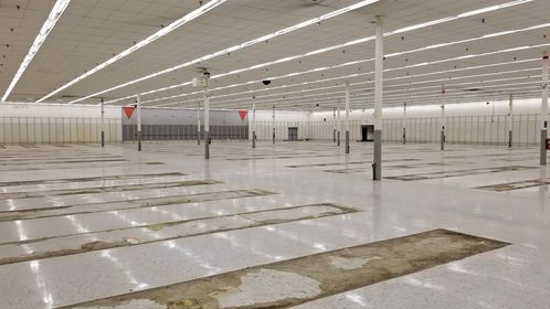 Closing sale at the soon-to-be-former Kmart store in Martinsburg, West Virginia.