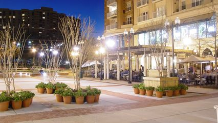 A recent mixed-use development is Pentagon Row, behind Pentagon City Mall. Shops on bottom, apartments on top. Additionally, this center area plays host to many different things, including an ice rink during the winter.