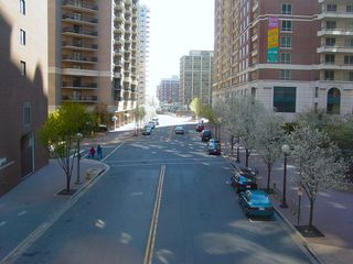And that's Ballston, as viewed here from the skywalk between Ballston Metro Center and Stafford Place.