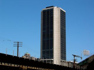 The tallest building in Richmond, and tallest in Virginia at the time, is the James Monroe Building, built in 1981, and sadly not exactly eye candy. It was originally planned for this building to have a twin tower, which was never built due to the early 1980s recession.