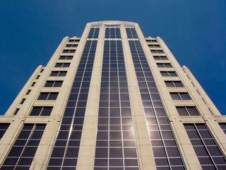 The tallest building in Roanoke is the First Union Tower, built in 1991.