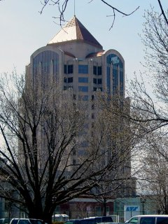 Of course, no matter where you look, you're likely going to get a view of the First Union Tower. It's really hard to miss.