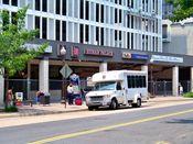 June 13, 2008: North Moore Street facade, after asbestos abatement has been completed.