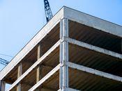 August 6, 2008: Southeast corner of upper floors.