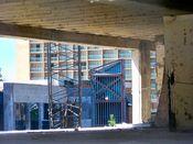 September 7, 2008: Building interior, third floor, facing northwest.