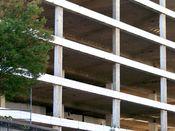 September 7, 2008: East facade.