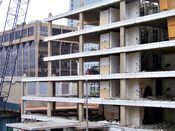 September 27, 2008: West facade.