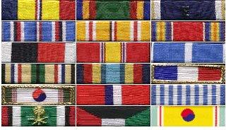 The USS Wisconsin's stripes
