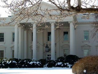 The North Portico originally was used as the White House's main entrance, but soon proved to be inadequate, creating the need to erect bridges from State Floor windows to allow for traffic flow. Since 1902, visitors enter the White House through the East Wing.